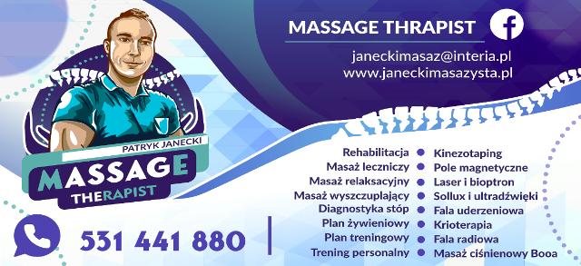 oferta stażu dla masażysty w Chrzanowie