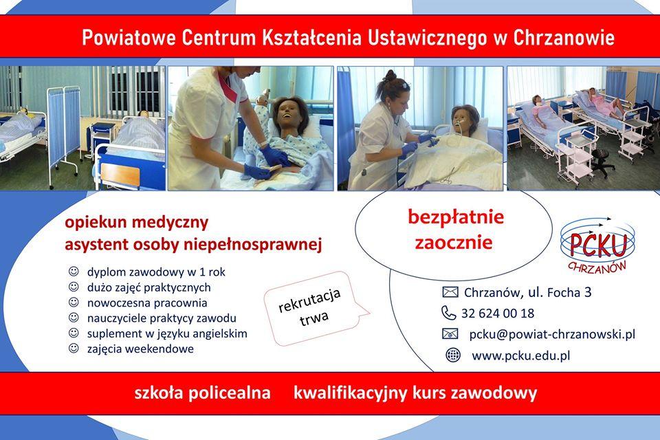 zawód opiekun medyczny i asystent osoby niepełnosprawnej