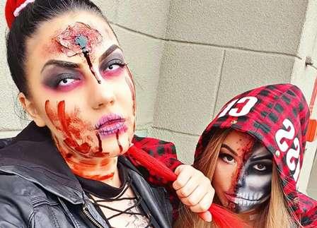 makijaż Helloween